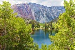Lago em lagos gigantescos Imagem de Stock Royalty Free