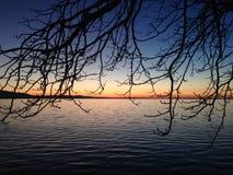 Lago em Lindau foto de stock