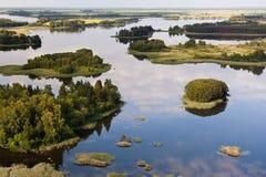Lago em Lithuania fotos de stock royalty free