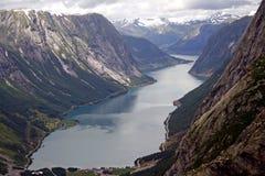 Lago em Noruega Imagens de Stock Royalty Free