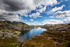 Lago em Noruega Imagem de Stock