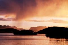 Lago em Noruega Foto de Stock
