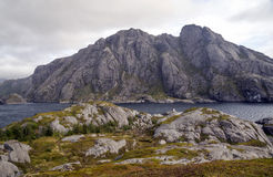 Lago em Noruega do norte Imagem de Stock