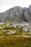 Lago em Noruega do norte Fotografia de Stock Royalty Free