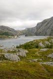 Lago em Noruega do norte Foto de Stock