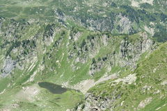 Lago em Pyrenees Imagens de Stock Royalty Free