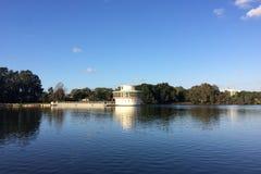 Lago em Ramat Gan National Park imagem de stock