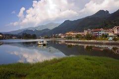 Lago em Sapa Fotos de Stock Royalty Free