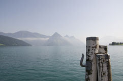 Lago em Suíça Imagens de Stock Royalty Free