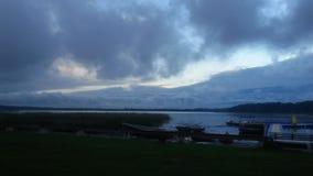 Lago em Sweden foto de stock