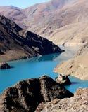 Lago em tibet Imagens de Stock Royalty Free
