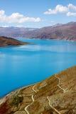 Lago em tibet Imagem de Stock