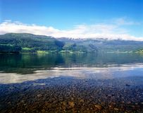 Lago em Voss, Noruega Foto de Stock Royalty Free