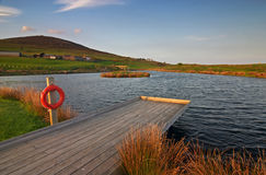 Lago em Wales Imagem de Stock Royalty Free