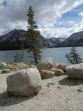 Lago em yosemite Fotografia de Stock