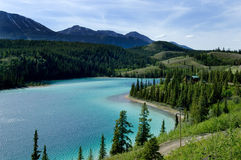 Lago emerald Imagem de Stock Royalty Free