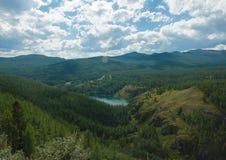Lago emparedado Imagenes de archivo