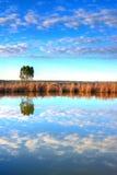 Lago en Alentejo Fotografía de archivo