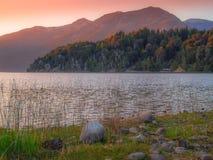 Lago en Bariloche foto de archivo