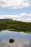 Lago en Cárpatos Foto de archivo