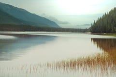Lago en Canadá imagenes de archivo