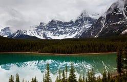 Lago en Canadá fotos de archivo