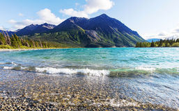 Lago en Canadá imagen de archivo libre de regalías