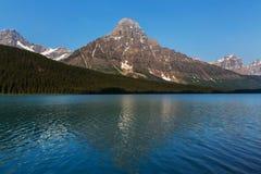 Lago en Canadá foto de archivo