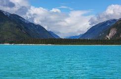 Lago en Canadá fotografía de archivo