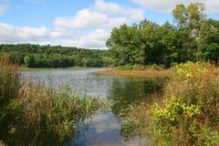 Lago en Canadá Fotografía de archivo libre de regalías