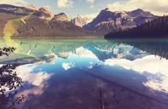 Lago en Canadá imagen de archivo