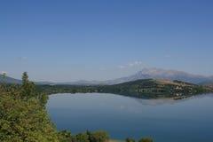Lago en Croacia, año 2010 Imágenes de archivo libres de regalías