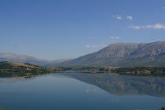Lago en Croacia, año 2010 Foto de archivo libre de regalías