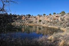 Lago en desierto Imágenes de archivo libres de regalías
