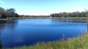 Lago en el parque de estado de la cala del potro fotos de archivo