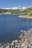 Lago en el paso de Tioga Foto de archivo libre de regalías