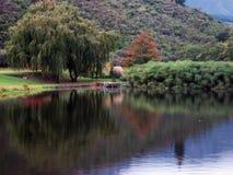 Lago en el Winelands fotografía de archivo libre de regalías