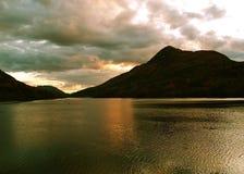 Lago en Escocia Fotografía de archivo
