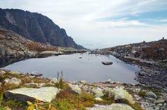 Lago en Eslovaquia Imágenes de archivo libres de regalías