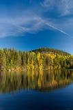Lago en Finlandia Foto de archivo libre de regalías