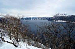 Lago en Hokkaido Imagen de archivo libre de regalías