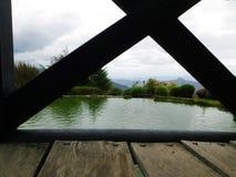 Lago en la montaña Fotografía de archivo libre de regalías