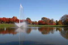 Lago en la oficina Foto de archivo libre de regalías