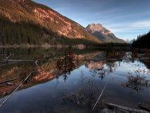 Lago en la ruta verde de Icefields Imágenes de archivo libres de regalías