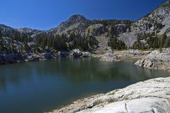 Lago en las montañas de Wasatch Foto de archivo libre de regalías