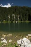 Lago en las montan@as julianas, Eslovenia. Imagenes de archivo