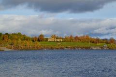 Lago en Noruega Imagen de archivo