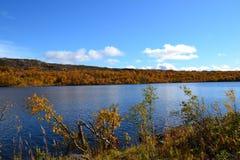 Lago en Noruega Imágenes de archivo libres de regalías