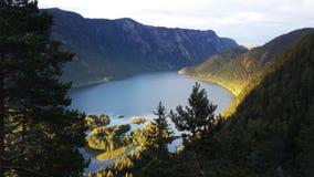 Lago en Noruega Foto de archivo