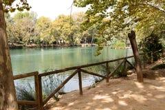 Lago en otoño Imagen de archivo